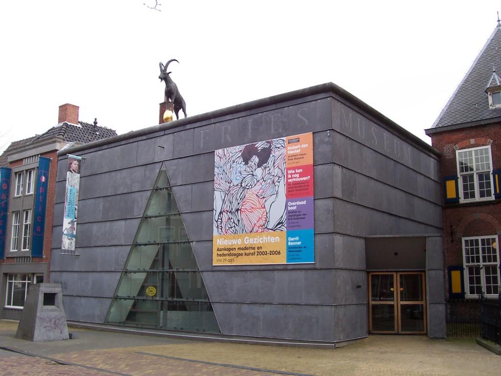 Het Fries Museum te Leeuwarden