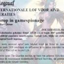 AIVD koploper in game spionage