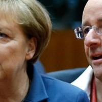 Merkel en Hollande willen eigen NSA maar noemen het Europees datanetwerk