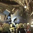 Kereta api derailment di kemalangan atau serangan metro Moscow?