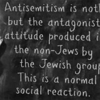 Opkomend antisemitisme is bedacht en wordt gepusht door zionisten zelf