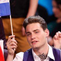 Fitoni konkursin e Eurovizionit të Këngës së Ukrainës, natyrisht, kartën e shpuar, Douwe Bob 11e