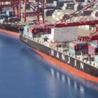 Падајући по свијету КСНУМКСе контејнерски превозник Хањин угрожава глобалну логистику