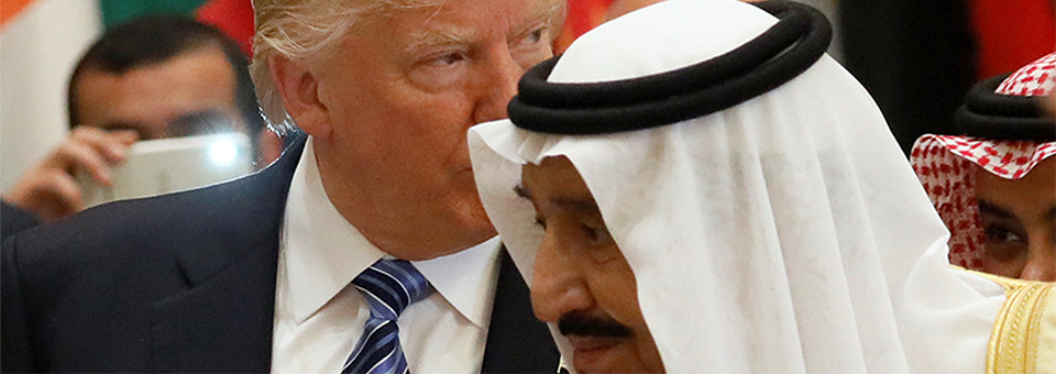 Trump menandatangani perjanjian dengan negara-negara Muslim untuk memerangi apa yang telah mereka ciptakan sendiri: IS