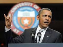 اوباما از سخنان معکوس خود در سخنان خود استفاده می کند