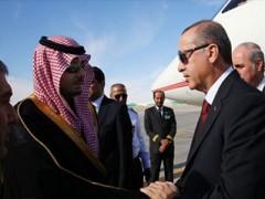 Qaib ntxhw, Erdogan thiab nws daim ntawv cog lus nrog cov neeg ntxeev siab ntawm lub teb chaws Ottoman, Saudi Arabia