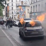 Weeks of harsh French protests Dutch media silence death