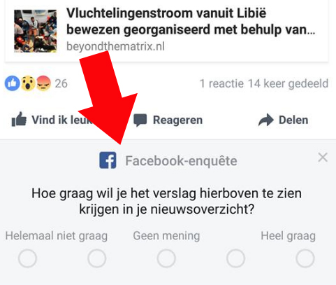 facebook-enquete