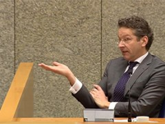 Thierry Baudet arrasa o piso con Jeroen Dijsselbloem