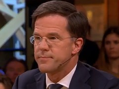 Mark Rutte under fire about Groningen gas production at Pauw and Jinek