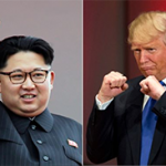 De oorlogsretoriek tussen Amerika en Noord-Korea