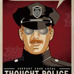 De vrijheid van meningsuiting, van spreken en van denken kan binnen een jaar weg zijn