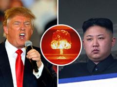 Soos Trump olie oor die vuur oor Noord-Korea, Jerusalem en Venezuela gooi, dryf die krag ooswaarts