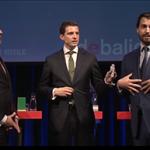 El jabón del debate electoral en las elecciones municipales en el Bar: Thierry Baudet y los otros actores en el vapor