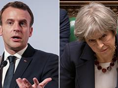 Akankah Theresa Dapat dibersihkan dan Brexit memutar leher melalui bendera palsu Skripal?