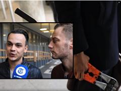 De betonschaar-act van het homostel Jasper en Ronnie uit Arnhem valt door de mand