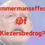 Dutch election results in 4 months from right to left to Timmermans? Voters cheats!