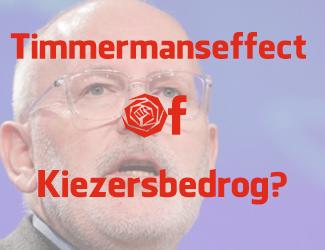 Nederlandse verkiezingsuitslag verandert in 4 maanden van rechts naar links om Timmermans? Kiezersbedrog!