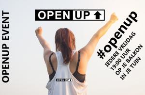 Het #openup event: We gaan de woordprogrammering omdraaien van 'lockdown' naar 'openup'