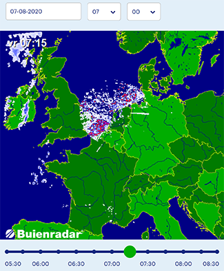 Nederland 7 augustus 2020 duidelijke HAARP cirkel zichtbaar: EMF straling veroorzaker opleving coronavirus-verschijnselen? (UPDATE)
